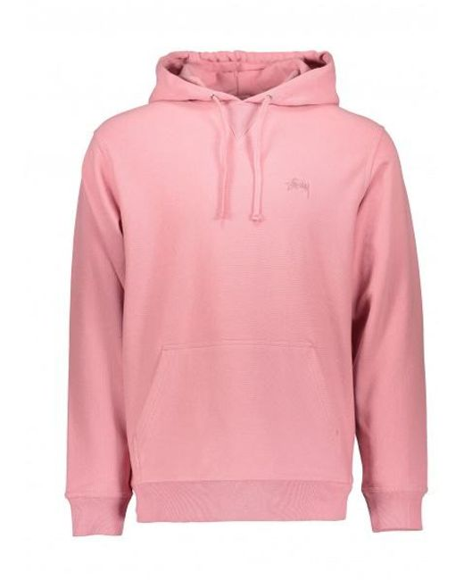 1881a9e62f8c Stussy - Pink Stock Terry Hoodie for Men - Lyst ...