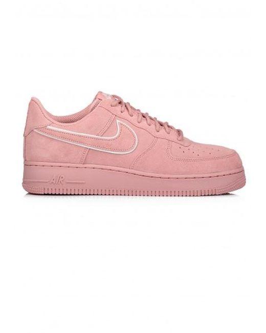 lyst nike air force 1 07 lv8 camoscio in rosa per gli uomini.