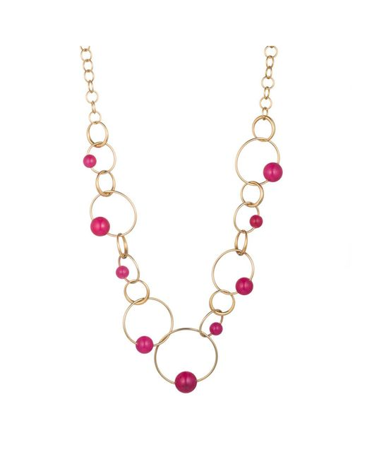 Trina Turk   Multicolor Hollywood Hills Link Necklace   Lyst
