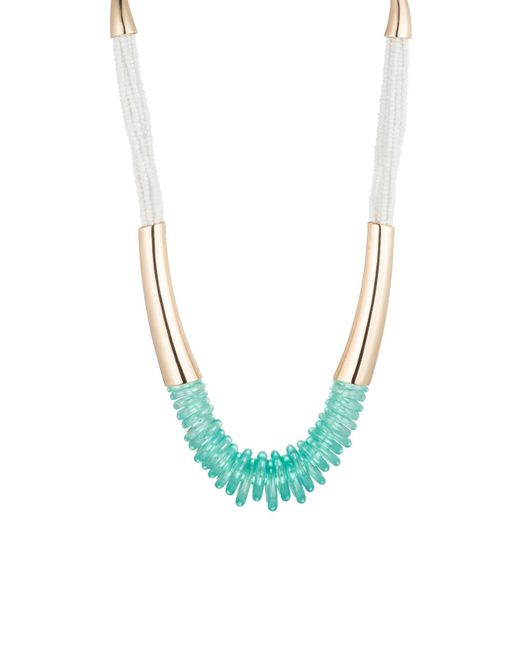 Trina Turk - Blue Pacific Wave Multi Strand Necklace - Lyst