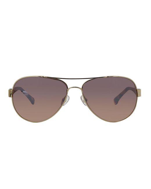 Trina Turk | Brown Lazio Sunglasses | Lyst