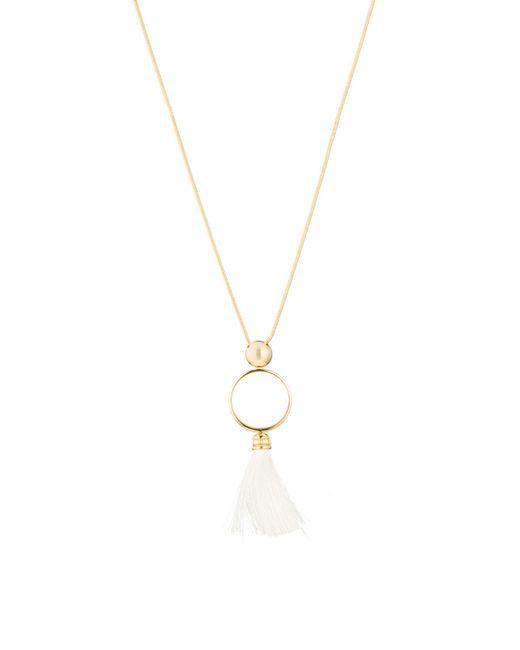 Trina Turk - Metallic Beads In Bloom Pendant Necklace - Lyst