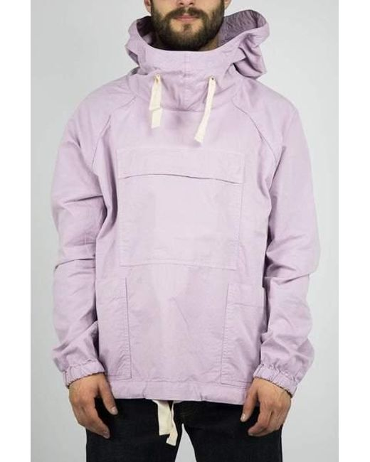 28d683e91afed Albam - Purple Lavender Mist Sailing Smock for Men - Lyst ...