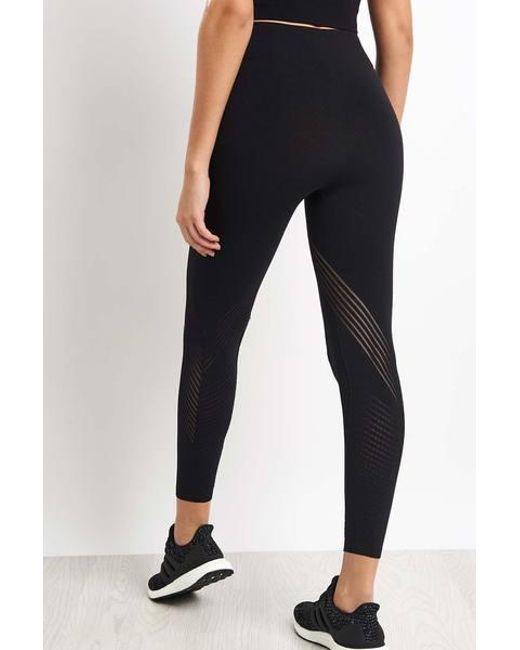 5836fdd847d ... Adidas - Black Warp Knit High Rise 7/8 Tights - Lyst ...