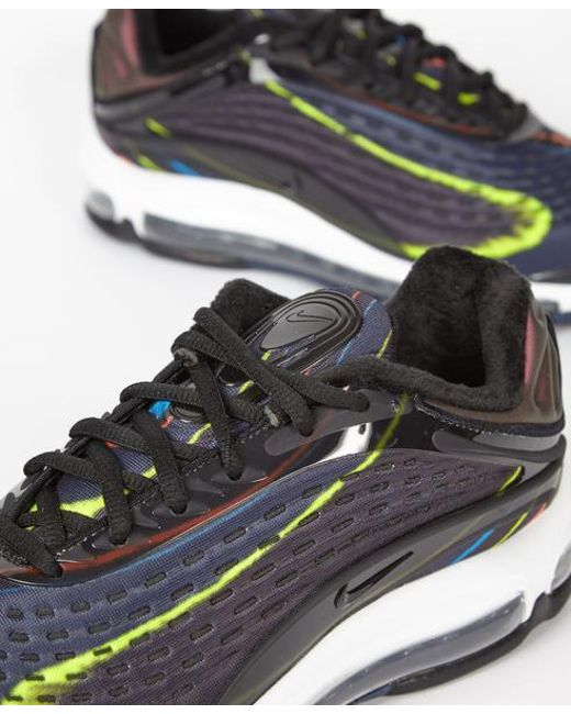 202af51c97 ... Nike - Multicolor Air Max Deluxe Midnight Trainers for Men - Lyst ...