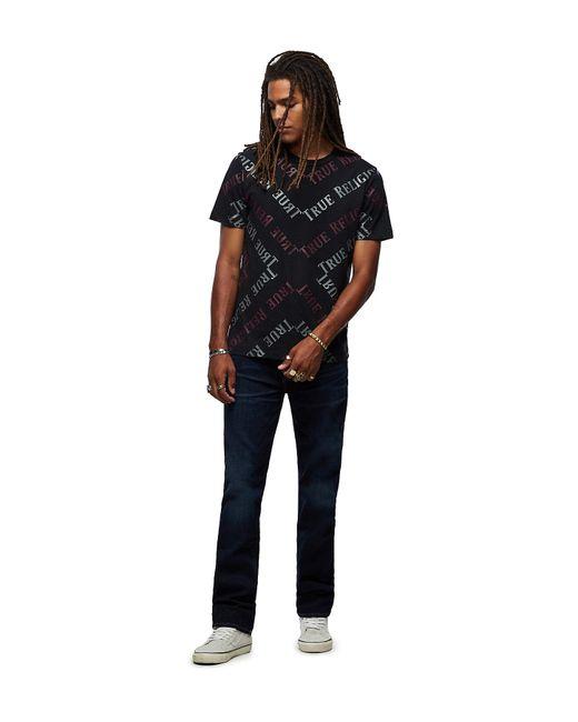 True Religion Blue Ricky Straight Jean for men