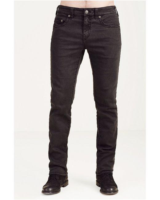 True Religion | Black Old Glory Straight-leg Jeans for Men | Lyst