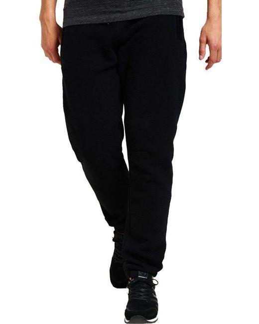 Superdry - Black Orange Label Urban Slim Fit Jogger Bottoms for Men - Lyst