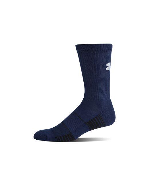 Under Armour - Blue Men's Ua Team Crew Socks for Men - Lyst