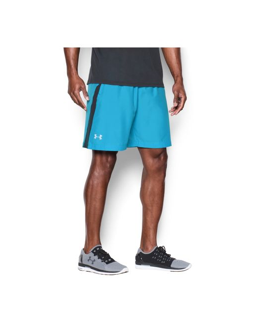 Under Armour | Blue Men's Launch Running Shorts for Men | Lyst