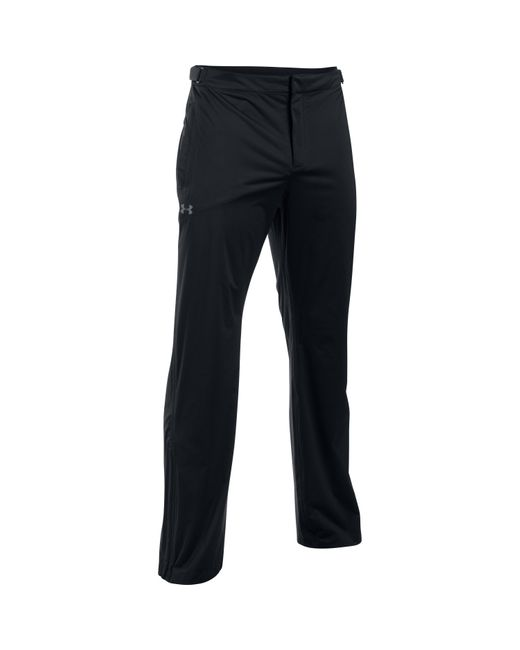 Under Armour | Black Men's Ua Storm Rain Pants for Men | Lyst
