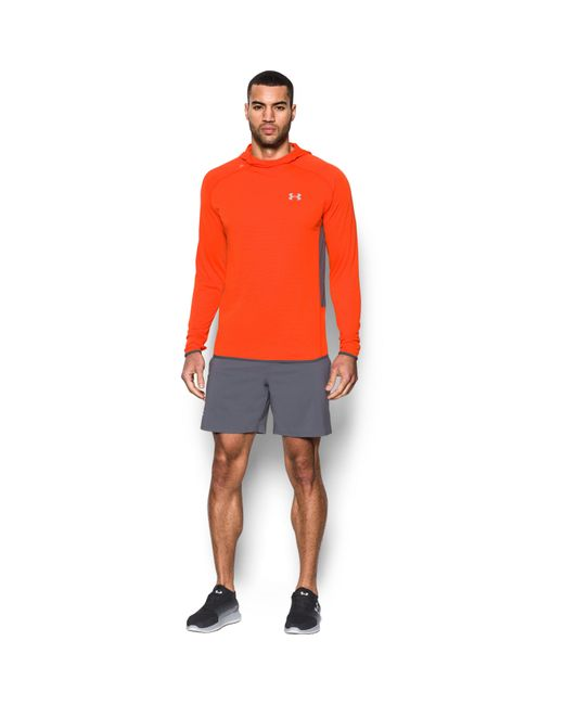 Under Armour - Orange Men's Ua Streaker Run Hoodie for Men - Lyst