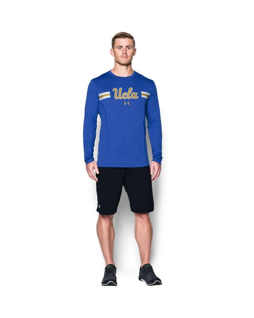 Under Armour - Blue Men's Ucla Ua Training Long Sleeve T-shirt for Men - Lyst