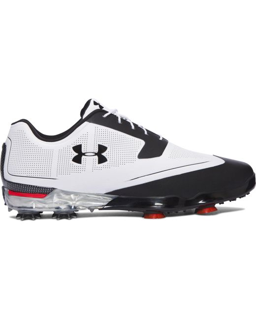 Under Armour - Black Men's Ua Tour Tips Golf Shoes for Men - Lyst