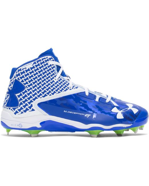 Under Armour - Multicolor Men's Ua Deception Mid Diamondtips Baseball Cleats — All-star Game Edition for Men - Lyst