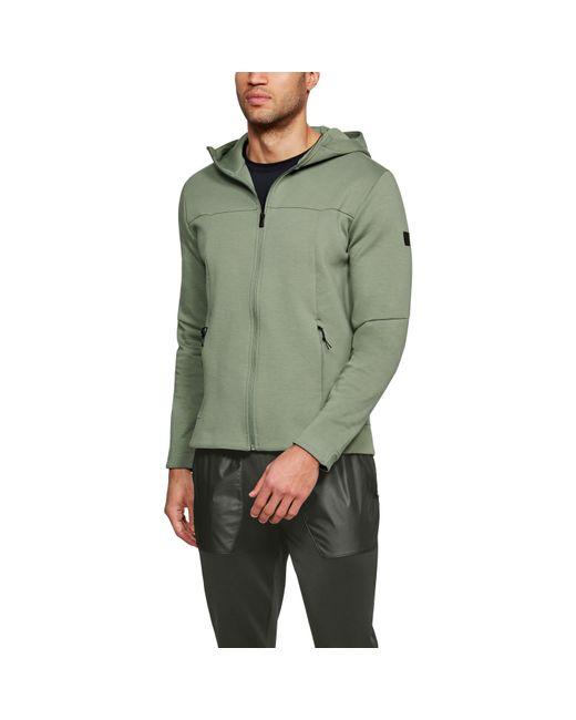 Under Armour - Green Men's Ua Sportstyle Elite Utility Full Zip for Men - Lyst