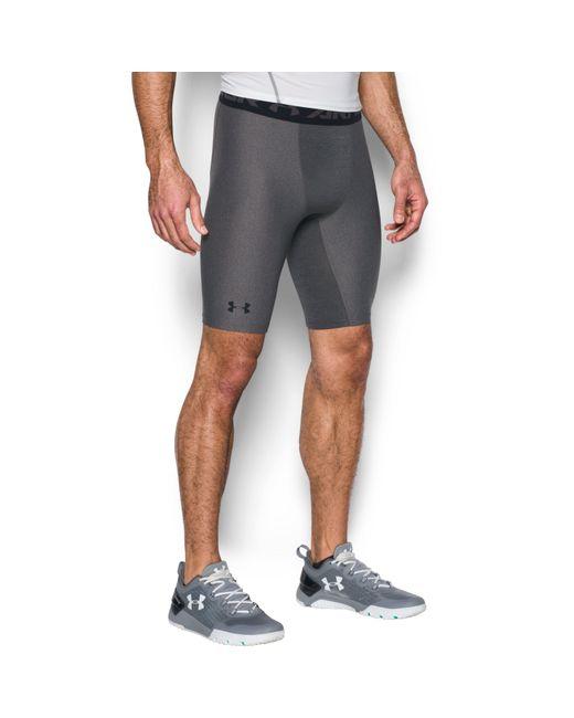 Under Armour - Gray Men's Heatgear® Armour Long Compression Shorts for Men - Lyst