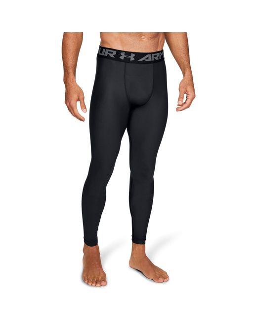 Under Armour - Black Men's Heatgear® Armour Compression Leggings for Men - Lyst