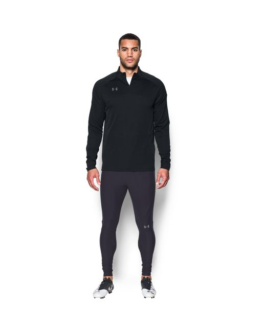 Under Armour | Black Men's Ua Challenger 1⁄4 Zip for Men | Lyst