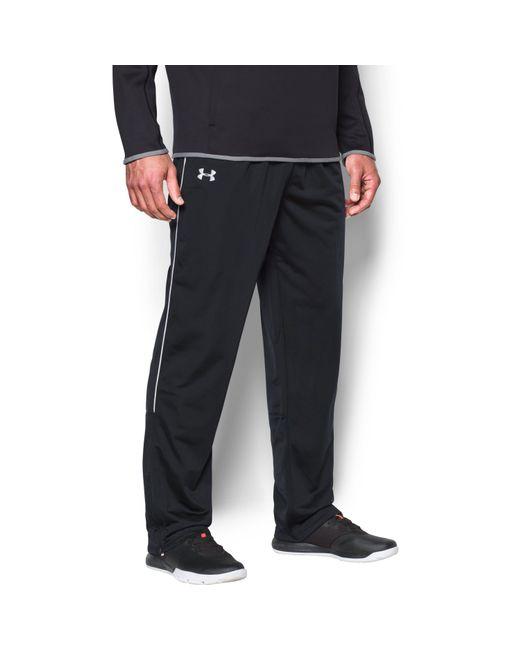 Under Armour - Black Men's Ua Rival Knit Warm-up Pants for Men - Lyst