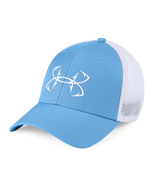 54f81154573 Lyst - Under Armour Fish Hook Cap in Blue for Men