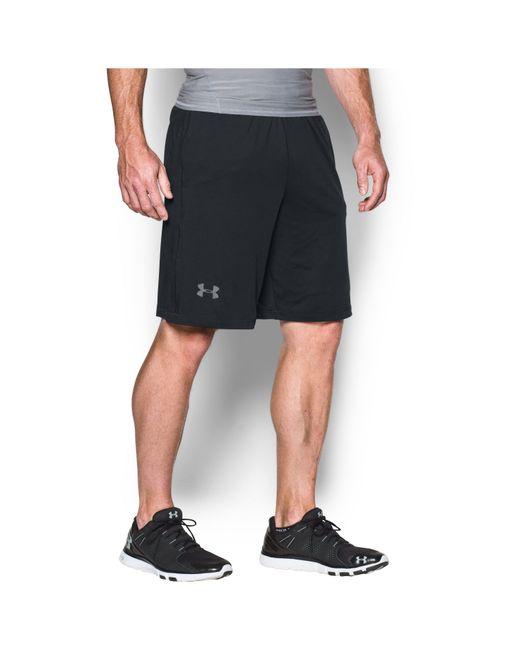 "Under Armour - Black Men's Ua Raid 10"" Shorts for Men - Lyst"