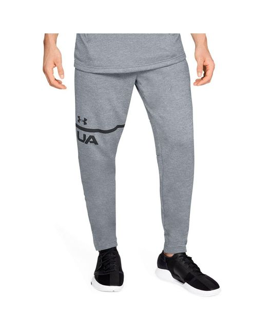 Under Armour Gray Men's Ua Techtm Terry Tapered Pants for men