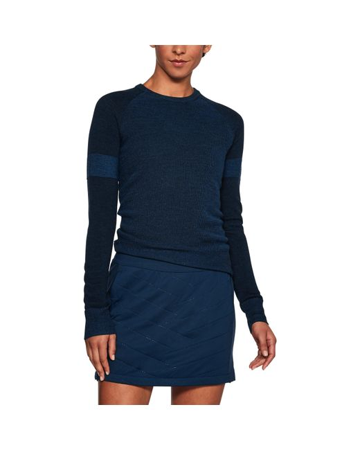 Under Armour - Blue Women's Ua Panelled Sweater - Lyst