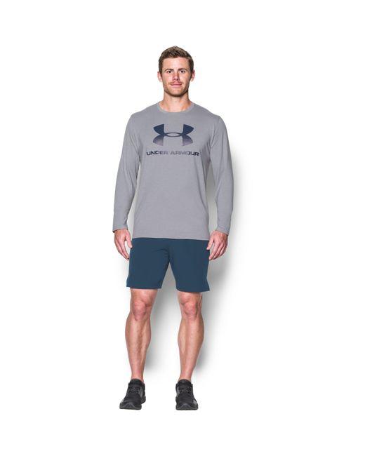 Under Armour - Gray Men's Ua Sportstyle Long Sleeve T-shirt for Men - Lyst