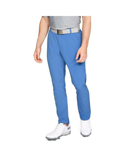 Under Armour - Blue Men's Ua Showdown Vented Pants Tapered for Men - Lyst