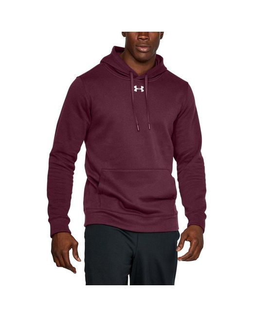 Lyst - Under Armour Men s Ua Hustle Fleece Hoodie in Purple for Men 2901ec9ee7c4a