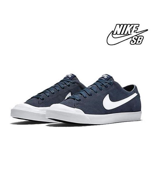 a13396bc079a Nike All Court Ck Obsidian 806306-411 in Blue for Men