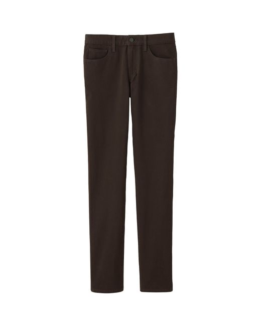 Uniqlo Men's Stretch Skinny Fit Colored Jeans in Brown for ...