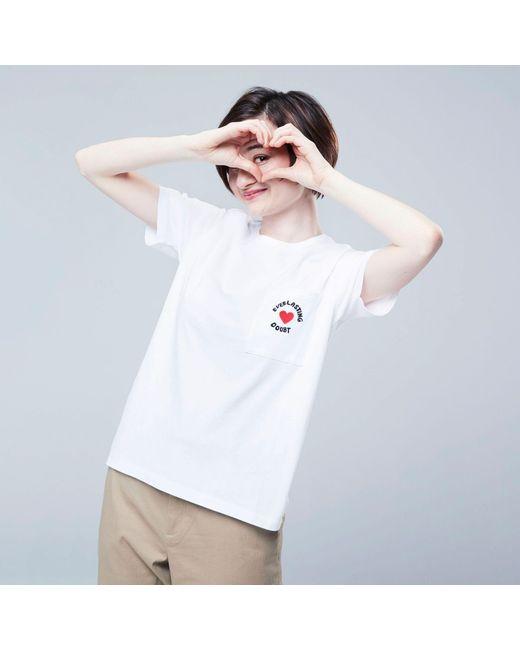 0dc84ff5e Uniqlo Women Miranda July Short-sleeve Graphic T-shirt in White - Lyst