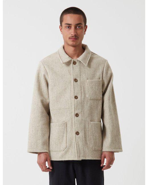 Le Laboureur - Natural Burel Wool Work Jacket for Men - Lyst