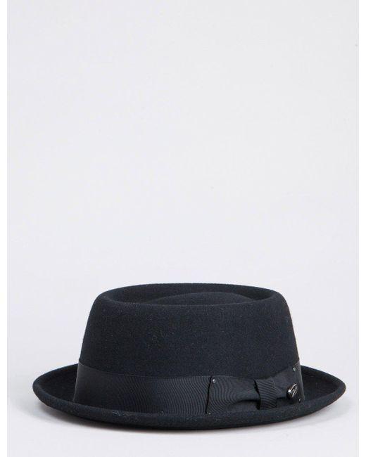 Bailey of Hollywood | Black Bailey Darron Pork Pie Hat for Men | Lyst