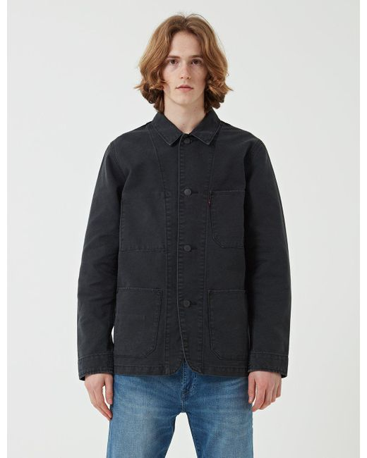Levi's | Gray Engineers Chore Coat for Men | Lyst