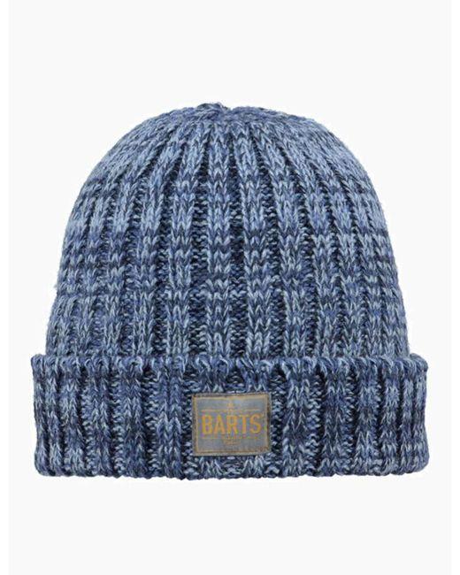6b17dd6f Lyst - Barts Leroy Beanie Hat in Blue for Men