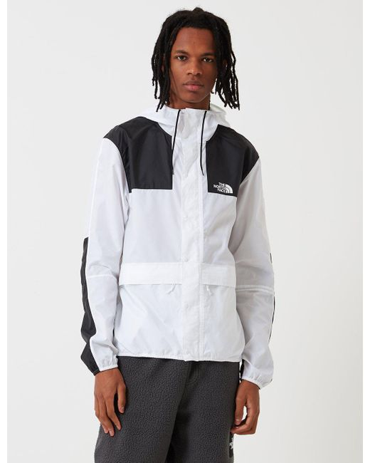 The North Face - White 1985 Sea Cel Mountain Jacket for Men - Lyst ... 4dcf09b09d7e