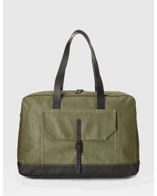 Ally Capellino | Green Dave Weekend Bag for Men | Lyst