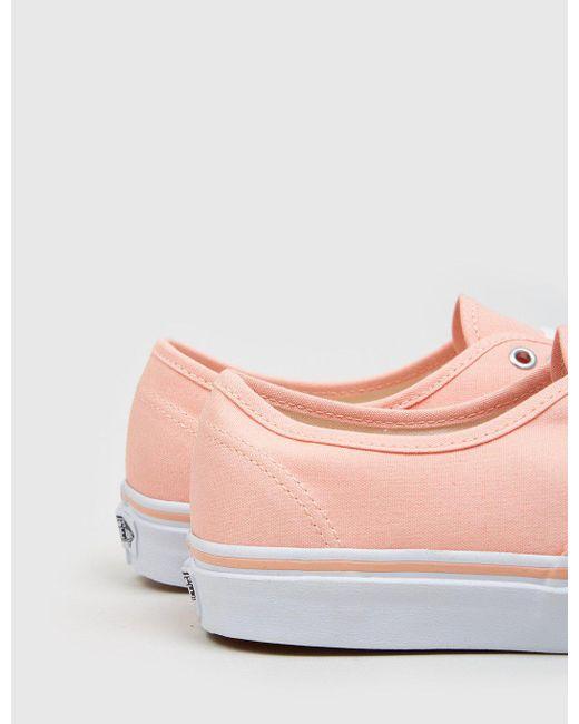 004ea7fc66 ... Vans - Pink Pastels Authentic (canvas) for Men - Lyst ...