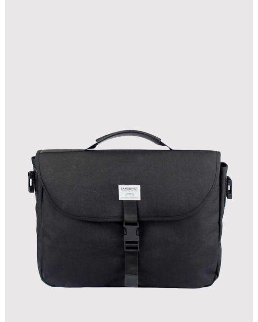 Sandqvist - Black Patrik Laptop Bag (cordura) for Men - Lyst