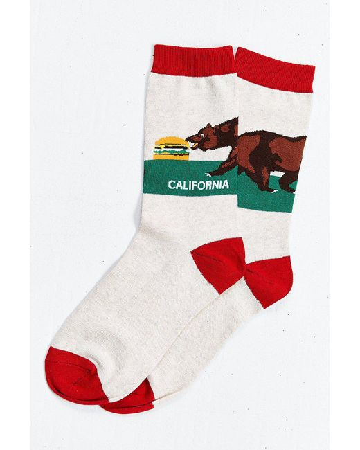 Urban Outfitters | Multicolor California Sock for Men | Lyst