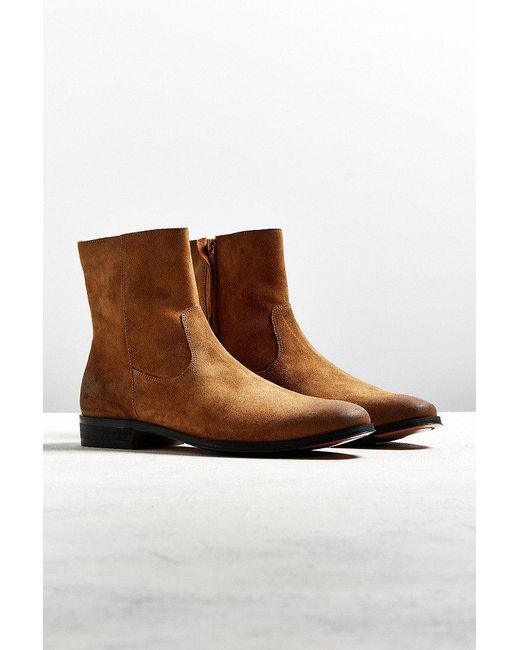 Urban Outfitters   Brown Uo Lester Western Chelsea Boot   Lyst