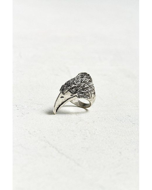 Urban Outfitters - Metallic Raven Ring - Lyst