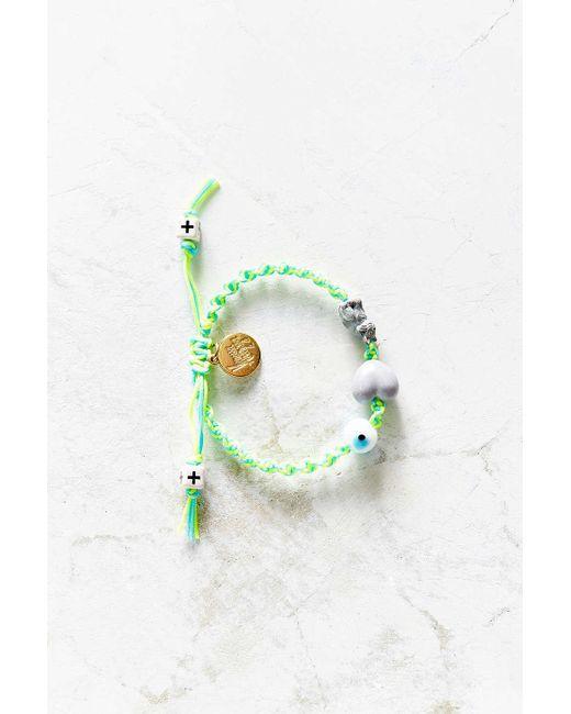 Venessa Arizaga | Green I Love Cats Bracelet | Lyst