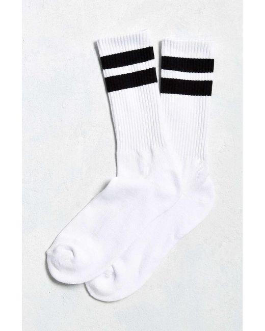 Urban Outfitters | White Sport Stripe Sock for Men | Lyst