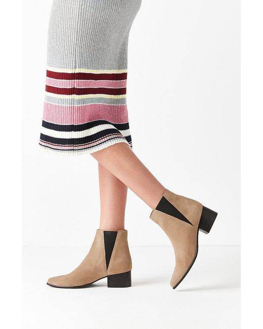 Urban Outfitters | Brown Pola Suede Chelsea Boot | Lyst