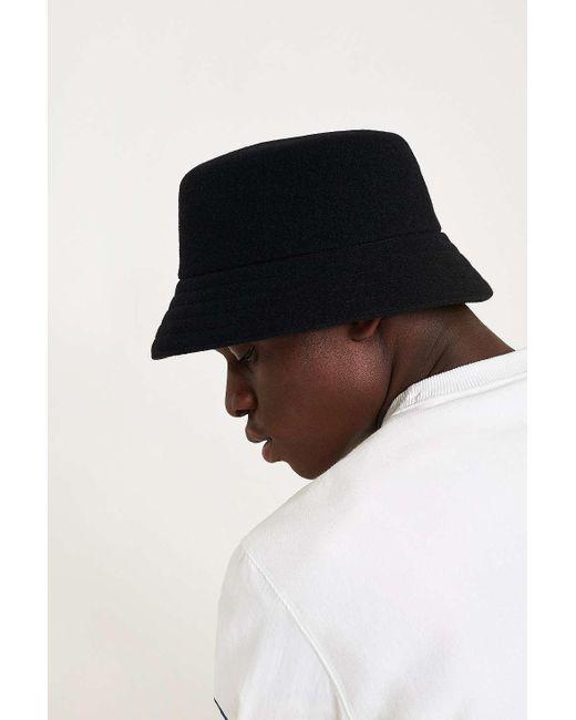 Kangol Wool Lahinch Black Bucket Hat Mens L In For Men Lyst. Kangol Dark  Blue Disney ... d07b949f8220