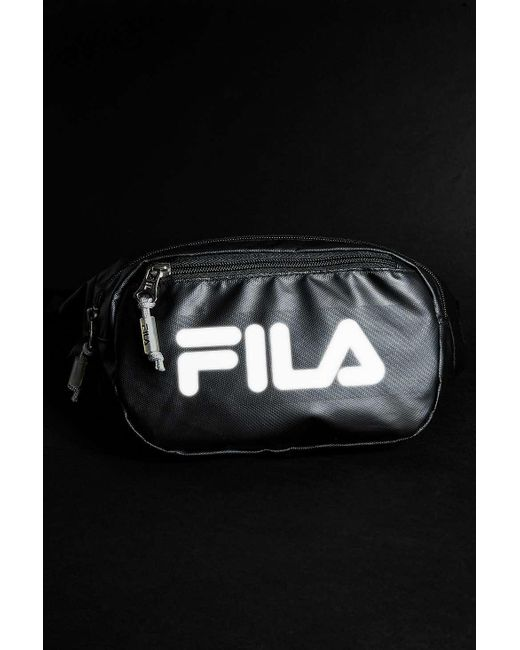 05aa5b69c9 ... Fila - Reflective Black Cross Body Bag - Mens All for Men - Lyst ...